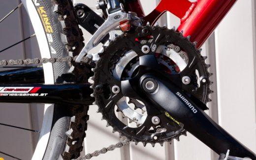 Flade pedaler giver større bevægelsesfrihed på mountainbike-turen